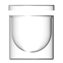 Double wall glass container...