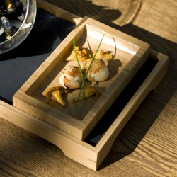 Bamboo Plate 200x120mm