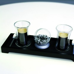 Black Bamboo Tray 320x110mm