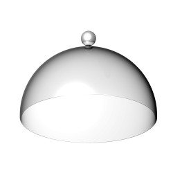 Dome 170mm with Stainless...