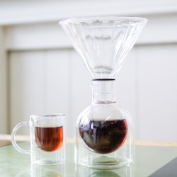 Coffee set with GlassConeMulti